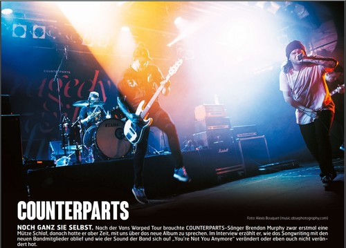 Counterparts, Fuze Magazin 66 OCT/NOV 17, http://fuze-magazine.de